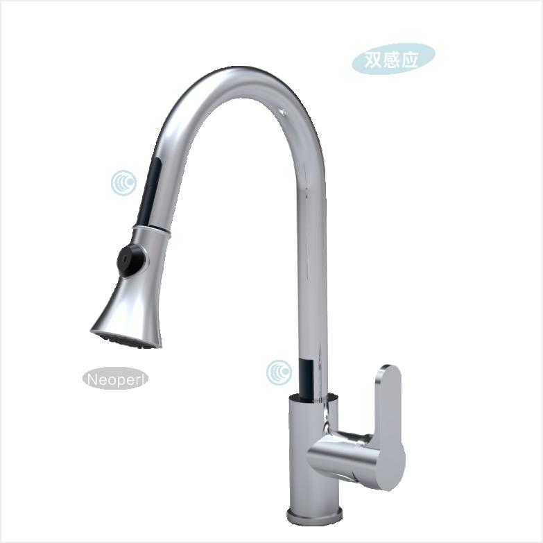 Automatic sensor kitchen faucet GBL-9105AD