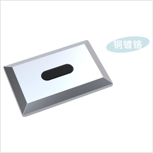Integrated ceramic urinal sensor flush valve GBL-6231D1