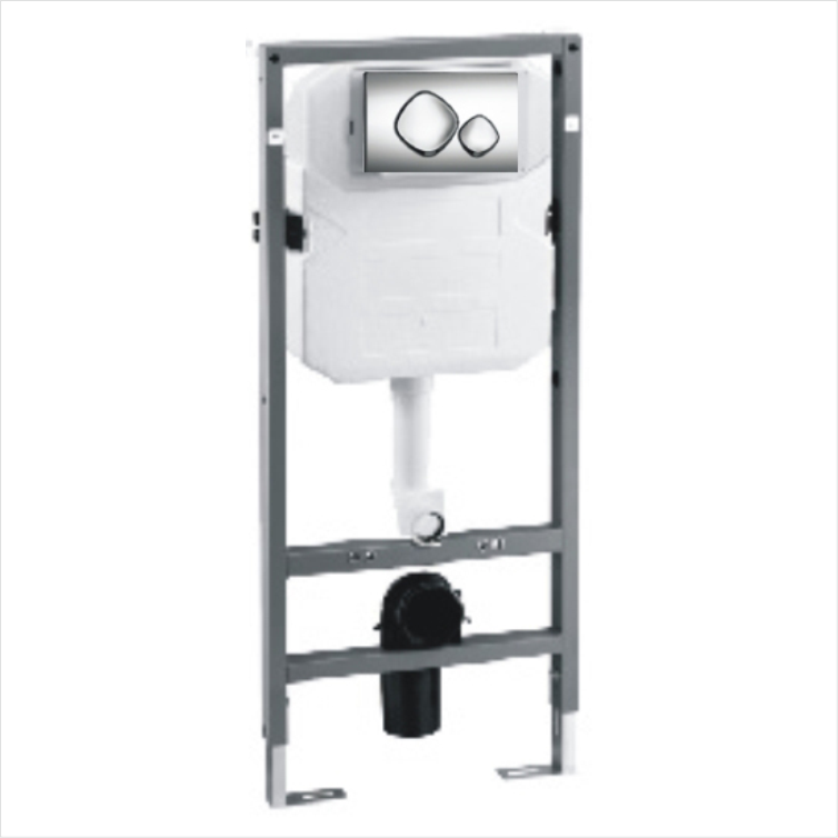 Wall mounted concealed toilet cistern G31554